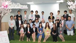 途上国支援プログラム「咲くらプロジェクト」のお披露目会を開催致しました。