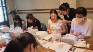 [5月12日開催]プロからテクニックを学ぶ☆セルフジェルネイル☆チャリティ講習会レポート